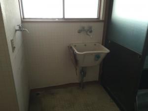 既設洗面室