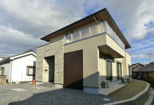 【新築】ナチュラルな中にデザイン性のある住宅