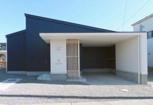 【新築】吹抜けの木造平屋建て住宅